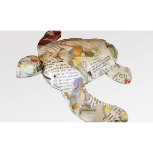Biodrgradable Turtle Keepsakes (Newsprint)